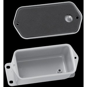 "Hoffman A403DSC Junction Box, NEMA 12, Flat Screw Cover, 4-1/2"" x 2.88"" x 2.62"""