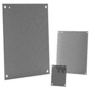 "Hoffman A60P24F1 Panel for Enclosure Size: 60"" x 24"", Steel/White."