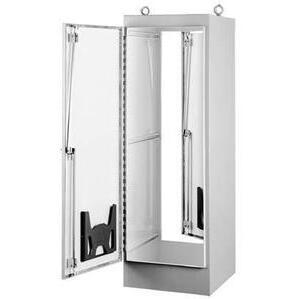"""Hoffman A723624FS Enclosure, Free-Standing, NEMA 12, One Door, 72"""" x 36"""" x 24"""", Steel"""