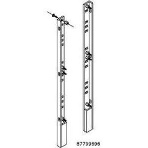"""Hoffman A72FSHDPS Panel Supports, Heavy Duty, 72"""" x 69"""", Steel/White"""