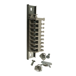 Hoffman A8JBNS Terminal Strip Assy, 8 Blocks