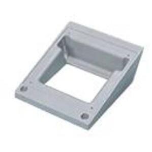 """Hoffman AAA1544 Angle Adapter For Hoffman Pedestals, 15° Tilt, Size: 4"""" x 4"""""""