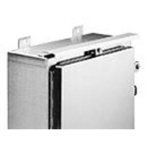 Hoffman ADK30SS6 Drip Shield Kit For NEMA 4X Enclosures, Type: Single Door Wall-Mount