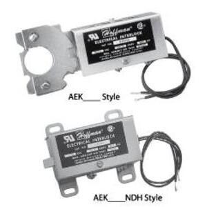 Hoffman AEK460 Electrical  Interlock, 460V/60Hz, Used With Door Latching Mechanisms
