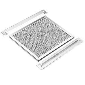 "Hoffman AFLT34 Louver Plate Kit Filter, 4.09"" x 3.25"", Aluminum"