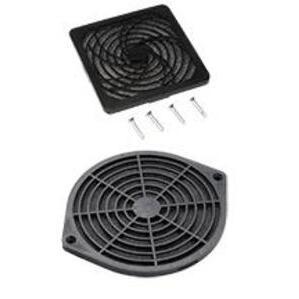 "Hoffman AFLTR4LD Fan Filter/Finger Guard Kit, Diameter: 4"", Non-Metallic"