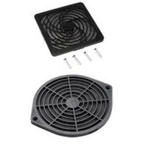 "Hoffman AFLTR6LD Fan Filter/Finger Guard Kit, Diameter: 6"", Non-Metallic"