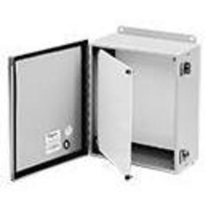 "Hoffman AJCDFK 8"" x 6"" Swing-Out Panel Kit"