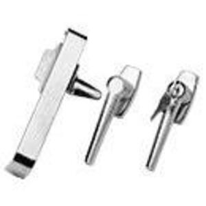 Hoffman AL2BR Latch Kit, One Point, Opens Clockwise, Steel