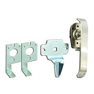 Hoffman AL36A Latch Kit, One Point, Opens Clockwise/Counterclockwise, Steel