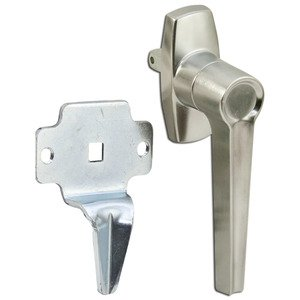 Hoffman AL3A Latch Kit, For 1-Door Type 12 Enclosures, Non-Locking, Steel