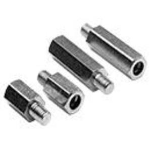 "Hoffman APE050 Threaded Panel Extender Kit, Length: 1/2"", Size: 10-32, Steel/Zinc"