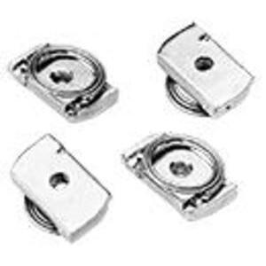 Hoffman APS1032CN Clamp Nut Package, Size: 10-32, Steel/Zinc