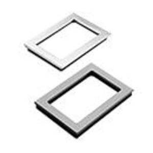 "Hoffman APWK138NFSS Window Kit, NEMA 4X, 13"" x 8"", Stainless Steel Frame, Polycarbonate Window"