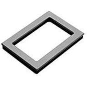 "Hoffman APWK53NF Window Kit, NEMA 12/13, 5"" x 3"", Steel Frame, Acrylic Window"