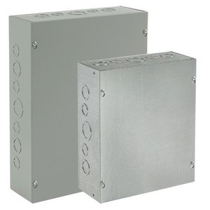 Hoffman ASG12X8X6NK Use this enclosure in commercial and general industrial applications that require a junction or pull box. For flush installations, order flush covers and door frames separately.