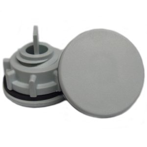 "Hoffman ASPB100125NM Hole Seal, for 1 & 1-1/4"" Knockouts and 30mm Holes"