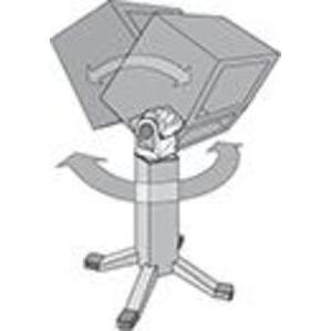 """Hoffman AST44 Swivel Tilt, for 4 x 4"""" Pedestal"""