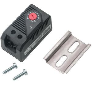 Hoffman ATEMNC Temperature Control Switch, Bi-Metal Sensor, 120VAC, Molded Plastic