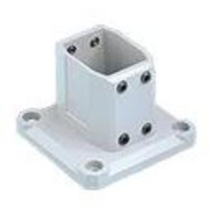 Hoffman CCS2WFBLG Wall Flange, Base Bracket, Fits 45 mm x 60 mm, Aluminum
