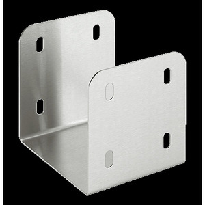 """Hoffman CT44UCSS Wireway U-Connector, 4"""" x 4"""", Stainless Steel, Type 1"""
