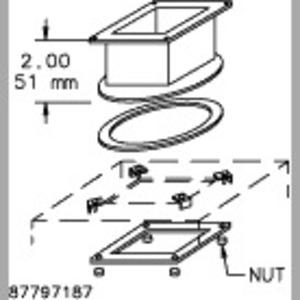 Hoffman F22WSA SWIVEL NIPPLE (BOX