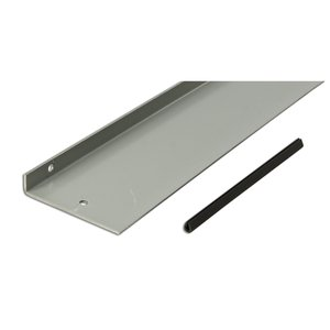 "Hoffman F44BK60 Barrier Kit, Bolt-On, 60"" Long, 4"", Type 12 Lay-In Wireway"