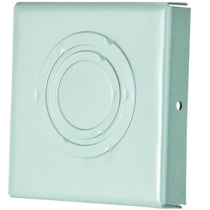 "Hoffman F66GCP Wireway Closure Plate, 6"" x 6"", Type 1, Gray, KOs"