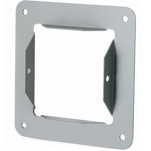 "Hoffman F66GPA Wireway Panel Adapter, Type 1, Lay-In, 6"" x 6"", Steel, Gray"