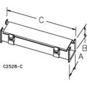 Hoffman F88L120 Wireway, 120.00 inch, Straight Section