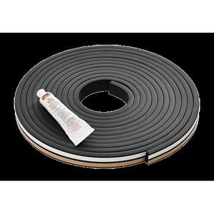 """Hoffman GSKTKITE375 Gasket Kit, Material: EPDM, Size: 0.375 x 1.00"""", Length: 20'"""
