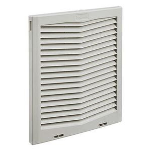"Hoffman HG1300404 Exhaust Grille, IP54, Diameter: 13"", Material: Thermoplastic"