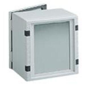 Hoffman LBF2525 Fixed HMI Bezel, 250 x 250 x 17mm, Includes Gasket & Mounting Hardware