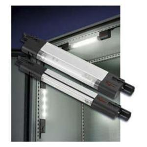 "Hoffman LF120V28 Fluorescent Enclosure Light, 120 VAC, Length: 28"", Aluminum Housing"