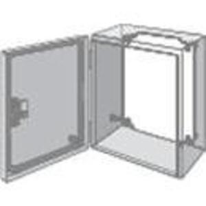 "Hoffman LP1515 Panel For Enclosure, Inline Series, 5.16"" x 5.16"", Steel/White"
