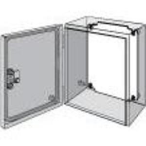 "Hoffman LP2015 Panel For Enclosure, Inline Series, 7.13"" x 5.16"", Steel/White"