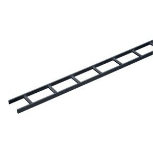 Hoffman LSS12BLK Ladder Rack, Straight Section