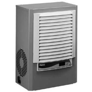 Hoffman M170216G009 Side Mount Air Conditioner, 115V, 50/60Hz, 1800 BTU, Steel, Gray