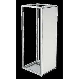 Hoffman PBB206 Barrier Panel, Size: 2000 x 600mm, Steel/Gray