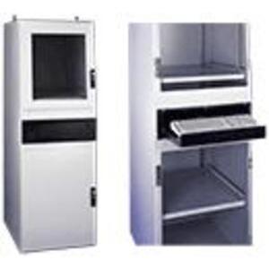 "Hoffman PDS56GLD Enclosure, ProLine, Solid Door, Upper, Front, 18.43"" H x 23.31"" W"