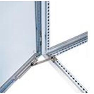 Hoffman PDSK Door Stop Kit, 130° Opening, Steel/Zinc
