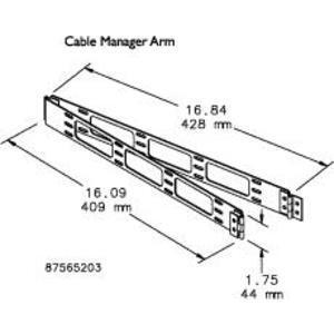 Hoffman PHCB Hinged Cable Bracket Shelf
