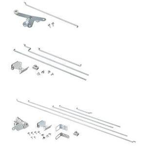 Hoffman PMLSK Slave Door Interlock Kit, Steel, Zinc Plated