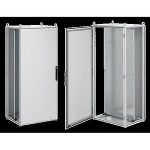 """Hoffman PP20105 Enclosure, Floor Mounted, 78.74"""" x 39.37"""" x 19.69"""", Single Door"""