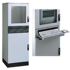 Hoffman PPC1866 PC Modular Enclosure, (3) Access Doors, Sealed Keyboard Compartment
