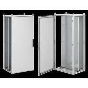 """Hoffman PPOD20128 Enclosure, Floor Mounted, 78.74"""" x 47.24"""" x 31.50"""", Double Door"""