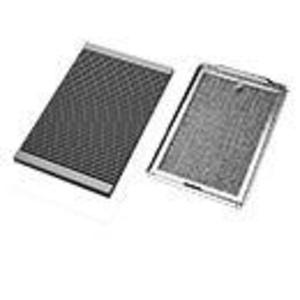 """Hoffman PPV32B Vent Kit, Louvered Cover and Filter Package, 12"""" x 8"""" x 1"""", Metallic"""