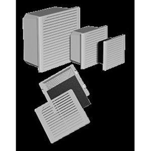 "Hoffman TFP424 Cooling Fan Package, 7.37"" x 6.29"" x 2.65"", 24VDC, 50/60Hz"