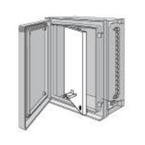 "Hoffman UU5040SP Panel, Swing-Out, 24.61"" x 20.20"", Nema 4X, Steel, For Use with Hoffman ULTRX Fiberglass Enclosures"