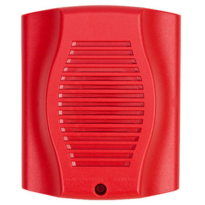 Honeywell HR-LF Sounder, Low Frequency, 12/24VDC, Red